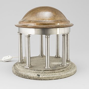 A first half of the 20th century table light.