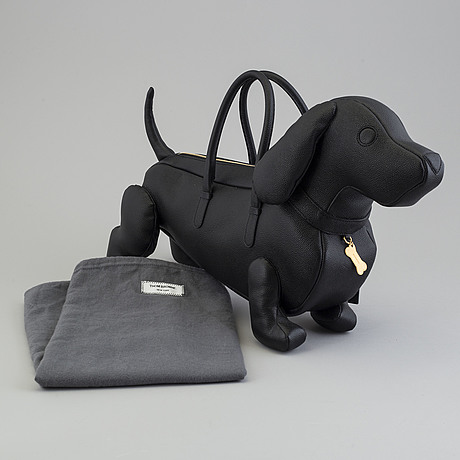 """A """"hector bag"""" by thom browne."""