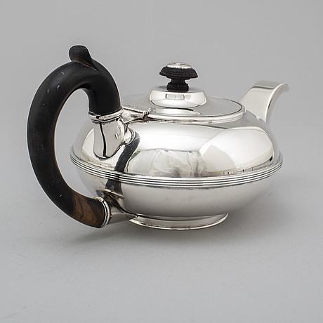 Tekanna, silver, icke identifierad mästarstämpel, s:t petersburg 1800-tal.