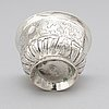 A russian 18th century silver charka, unidentified makers mark, moscow 1745.