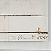 """Christo & jeanne-claude, """"wrapped road sign, project light 65""""."""