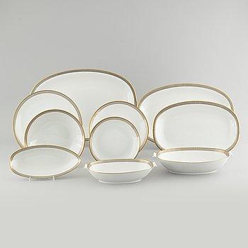 "A 56 p tableware, porcelain, ""Exclusiv"", Rörstrand, 1950/60s."