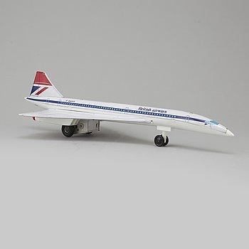 LEKSAKSFLYGPLAN, Concorde G-BBDG, Japan, 1900-talets slut.