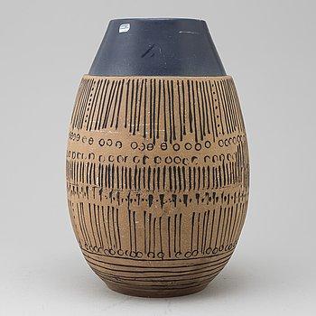 A floor vase by Lisa Larson, Gustavsberg. Designed in 1959.
