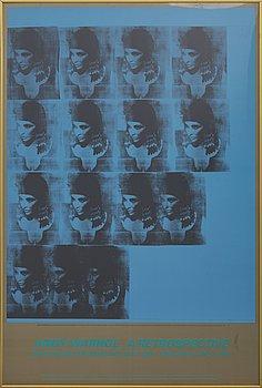 ANDY WARHOL, affisch 1989.