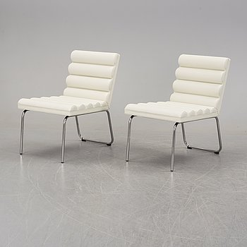 A pair of 'Chicago' chairs by Gunilla Allard, Lammhult, designed 1998.