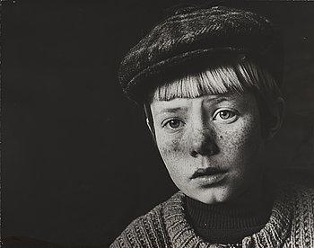CARL-ERIK KÄLLMAN, fotografier 4 st porträtt, 1960-70-tal, ett märkt a tergo.