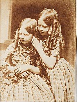 "308. David Octavius Hill & Robert S. Adamson, ""The Misses Grierson"", 1843-1847."