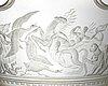 "Simon gate, a swedish grace engraved ""bacchus"" bowl, orrefors, sweden 1926, engraved by arthur diessner."