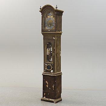 A LONGCASE CLOCK, second half of the 18th century.
