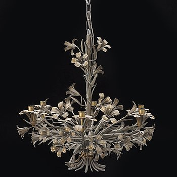 A CHANDELIER, Louis XV-stil, mid 20th century.
