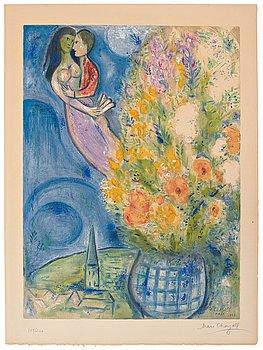 "582. Marc Chagall Efter, ""Les Coquelicots""."