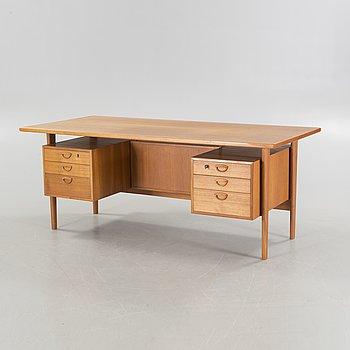 "KAI KRISTIANSEN, skrivbord, ""FM 60"", Feldballes Møbelfabrik, Danmark, 1950/1960-tal."