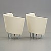 Paolo pallucco, a pair of easy chairs for gambe-pallucco, italy 1980´s.