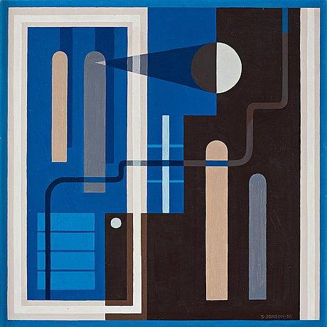 Sven jonson, plangeometrisk komposition