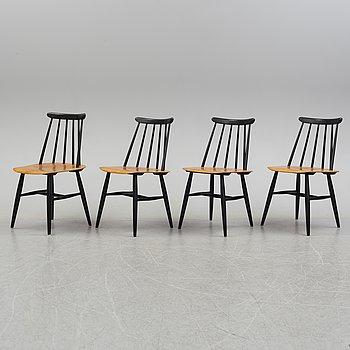 """ILMARI TAPIOVAARA, stolar, 4 stycken, """"Fanett"""", 1960-tal."""