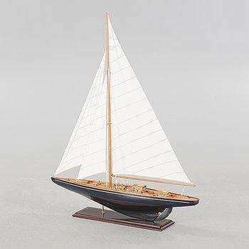 BÅTMODELL, segelbåt, 1900-tal.