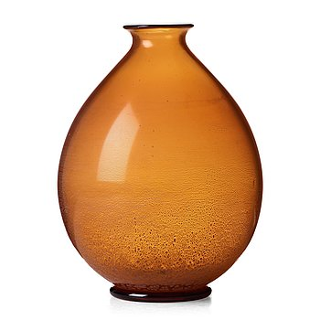 "ANDRIES DIRK COPIER, a ""Serica"" vase, Glasfabriek, Leerdam, The Netherlands, ca 1925-30."