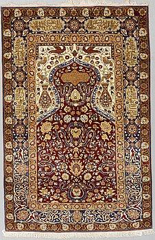 MATTA, Orientalisk, Silke, ca 153 x 101 cm.