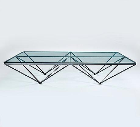 """Paolo piva, an """"alanda"""" sofa table, b & b, italy post 1981."""