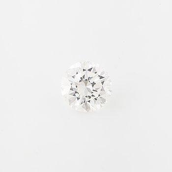 A brilliant cut diamond, ca 1.05 ct.