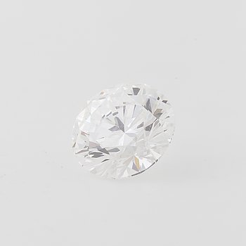 A brilliant cut diamond, ca 1.05 ct.
