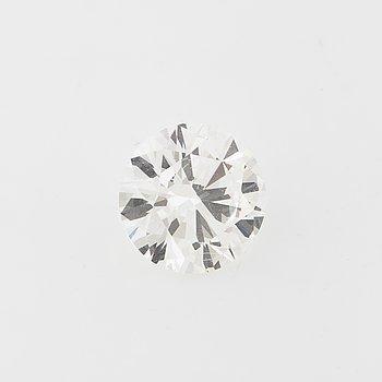 A brilliant cut diamond, ca 1.00 ct.