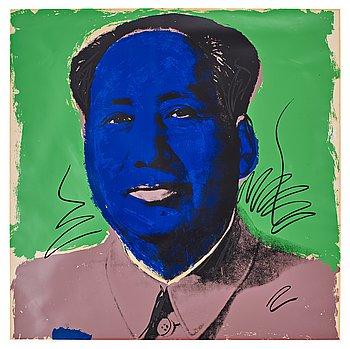 """321. Andy Warhol, """"Mao""""."""