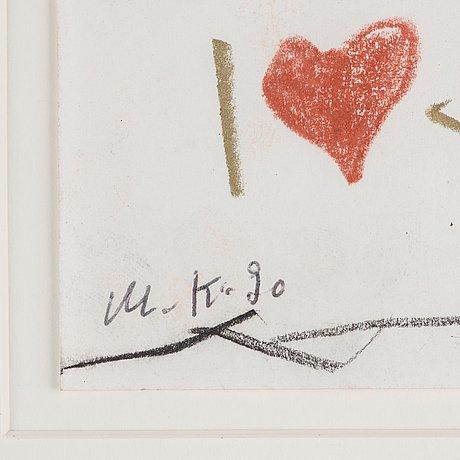 "Martin kippenberger, ""untitled (hotel chelsea)""."