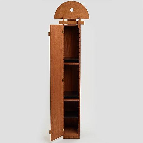 """John kandell, a mahogany cabinet """"gestalten"""" by källemo, sweden post 1989."""