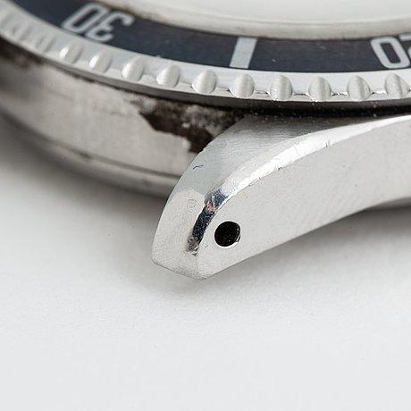 """Rolex, submariner, """"underline, gilt, meters first""""."""
