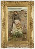 Henry scott tuke, oil on canvas, signed h.s. tuke and dated 1892.