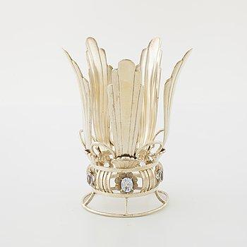 A bridal crown by Ceson, Göteborg, 1945.