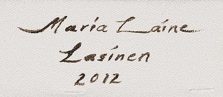 "Maria laine, ""glassy""."