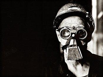 "275. JEAN HERMANSON, ""Renseriarbetare, Surahammars Bruk"", ca 1970."