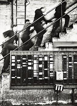 """281. JEAN HERMANSON, """"Stämpelklocka, Motala Verkstad"""", 1969."""