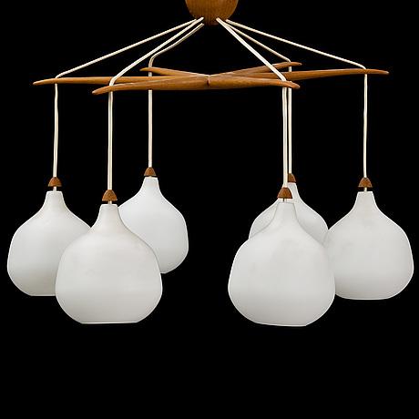Uno & Östen kristiansson, a ceiling light from luxus vittsjö.