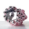 "Hanna hansdotter, a ""tiffany print"" glass sculpture, the glass factory, boda glasbruk, sweden 2018."