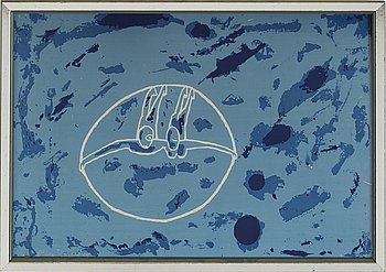 HANS VIKSTEN, Multiple on plate, signed 89/100. Dated -68.