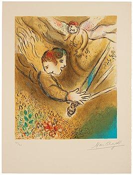 """579. Marc Chagall Efter, """"L'Ange du jugement""""."""