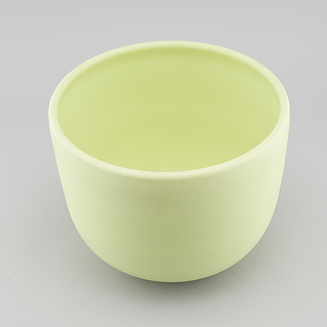 Inger persson, a stoneware bowl for rörstrand, signed i persson and dated  93