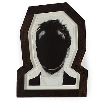 JAN SVENUNGSSON, Gelatin silver print (original frame by the artist), signed and dated 1989 verso.