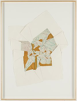 SUSAN WEIL, Etching in colour, signed AP 3/3. Dated 1984.
