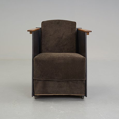 """Lars stensö, a """"high fidelity"""" easy chair, a unique edition for woodstockholm, sweden 2012."""