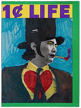 "574. Bok med 62 litografier av bland andra: Pierre Alechinsky, Karel Appel, ""One Cent Life""."