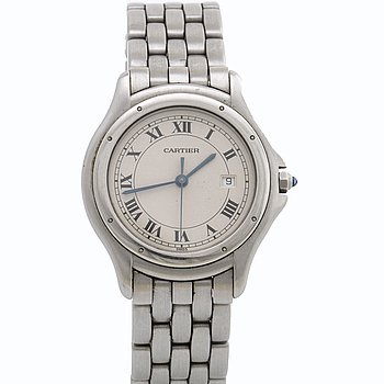 CARTIER, armbandsur, 34 mm.