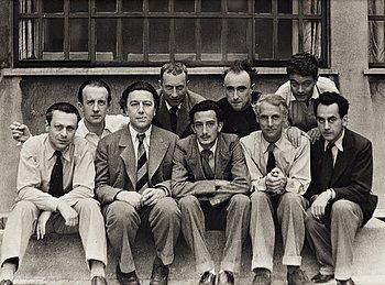 """307. Anna Riwkin-Brick, """"Groupe surréaliste, Paris"""", 1933."""