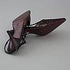 Sequin slingbacks by jean ferre.