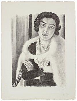 "645. Henri Matisse, ""Le Renard Blanc (The white fox)""."