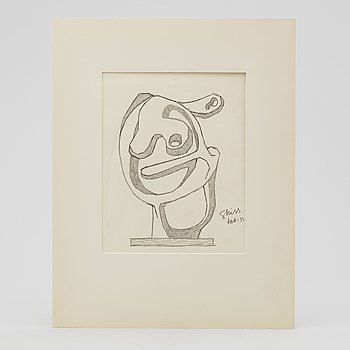 LARS ENGLUND, Pencil, signed and dated -51.